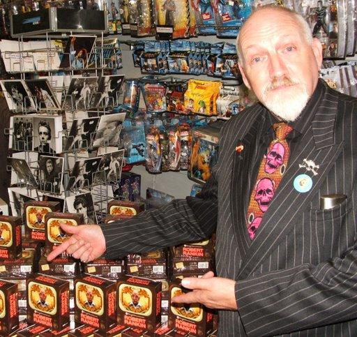 Robert Rankin at the Brightonomicon Audio Launch
