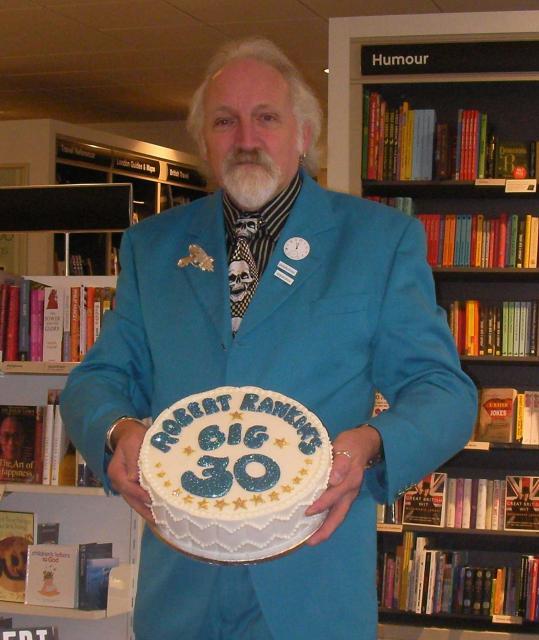 Book Launch Cake