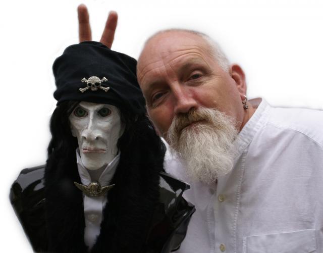 Robert Rankin and Count Otto Black