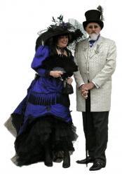 Robert and Rachel - the happy couple